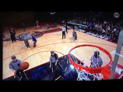 Steph Curry first round, 3pt contest 02/13/16
