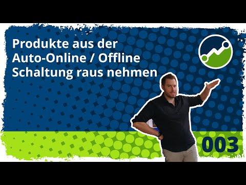 tricoma support #003: Neues Feature: Produkte aus der Auto-Online/Offline Schaltung raus nehmen