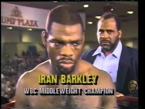 Roberto Duran vs Iran Barkley 24.2.1989 - WBC World Middleweight Championship