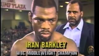 Roberto Duran vs Iran Barkley 24.2.1989 - WBC World Middleweight Championship thumbnail