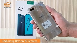 OPPO A7 UNBOXING AND REVIEW