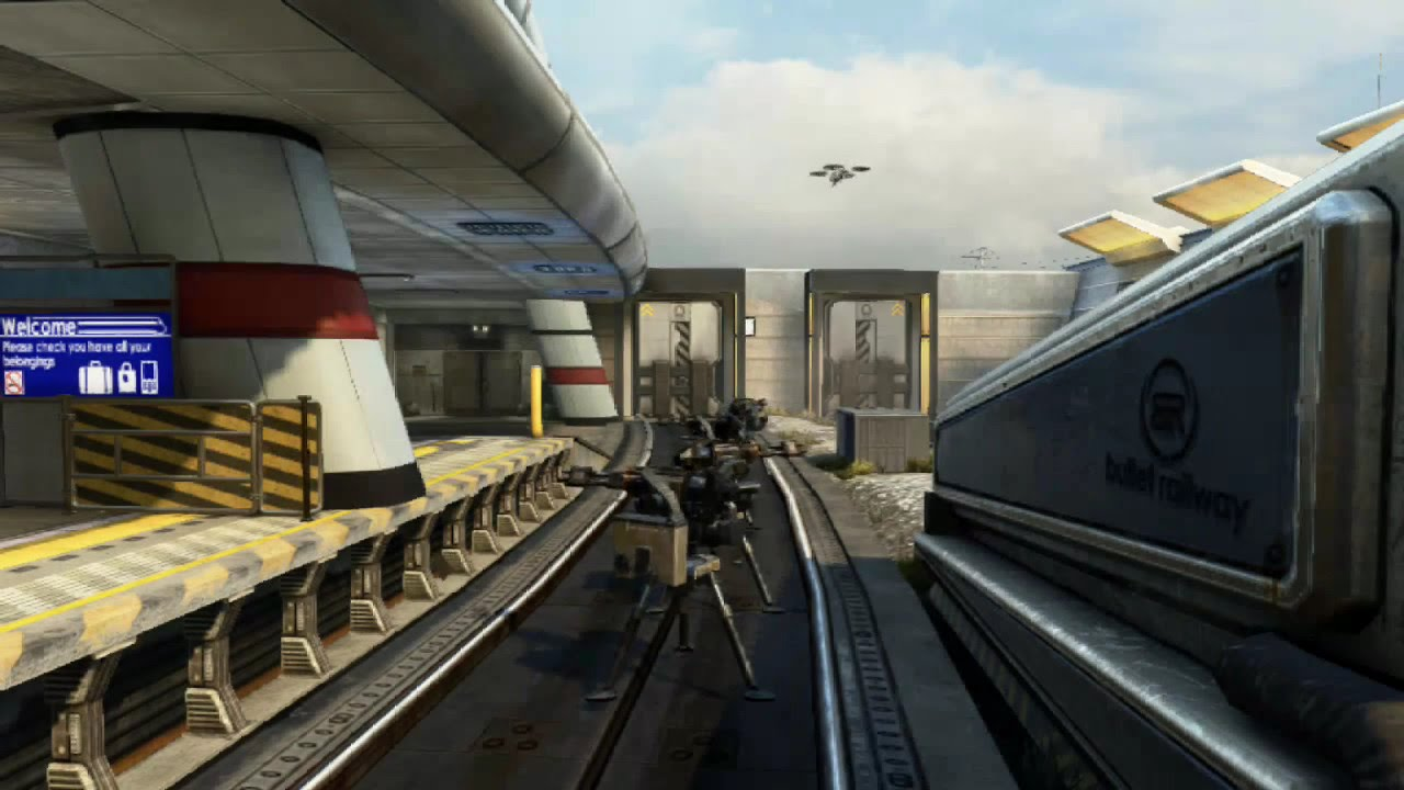 How To Stop The Train In Black Ops 2 Express Youtube