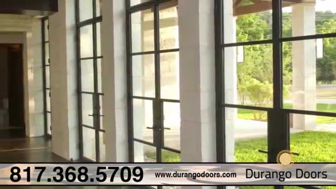 Durango Doors | Wrought Iron Doors Millennium Doors u0026 Energy Efficient Products in Fort Worth TX - YouTube & Durango Doors | Wrought Iron Doors Millennium Doors u0026 Energy ... pezcame.com