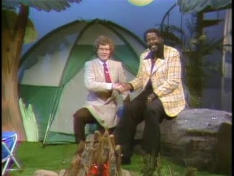 Camping with Barry White on Late Night, May 24, 1983