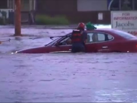 Multiple Water Rescues After Kansas City Floods