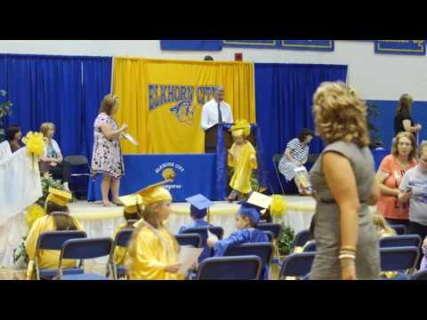 Elkhorn City Elementary School Kindergarten Graduation 2015