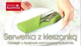 Repeat youtube video Serwetka z kieszonką na sztućce | DOROTA.iN
