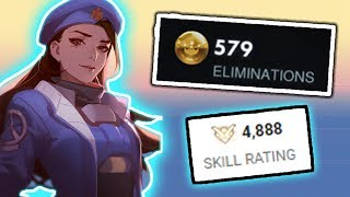 this is what the rank 1 ana player looks like overwatch