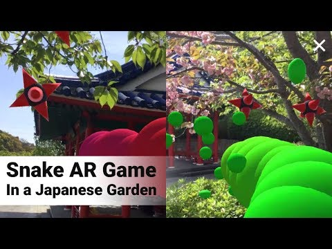 Classic Snake Arcade Game In Augmented Reality - NovaSnake Review