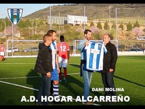Dani Molina realiza saque de Honor Hogar Alcarreño Bicampeón del mundo, de Europa y de España de tri