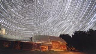 Star trails time lapse - Astro Film