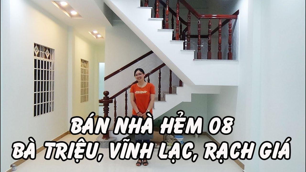 [Đã bán] Bán nhà hẻm 08, Bà Triệu, Vĩnh Lạc, Rạch Giá, Kiên Giang