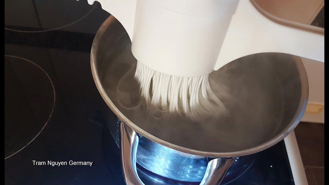 BÚN TƯƠI – Cách làm bún tươi, bún gạo ngon đơn giản tại nhà không hóa chất ăn Gỏi cuốn, chả giò