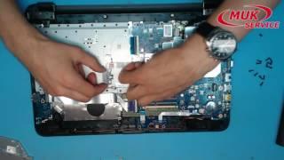 Обзор заменяемых модулей в нотубуке HP 250 G4 замена памяти, жесткого диска, плат расширения, привод