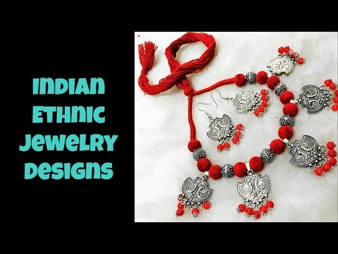Indian Ethnic Jewelry Designs Part 01