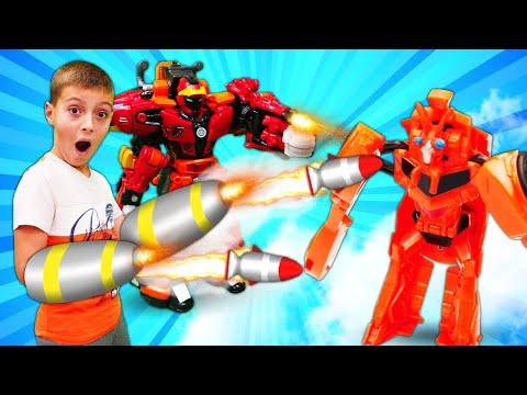 Трансформеры Металионы спасают Автоботов - Роботы Трансфомеры - Мультики для мальчиков