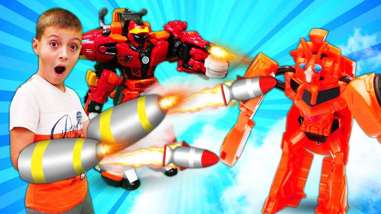 Трансформеры Металионы спасают Автоботов - Роботы ...