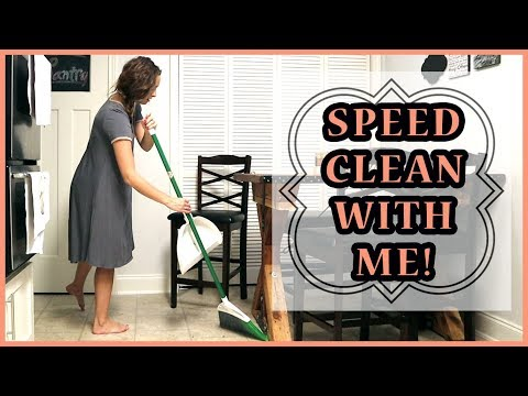 Speed Clean With Me!