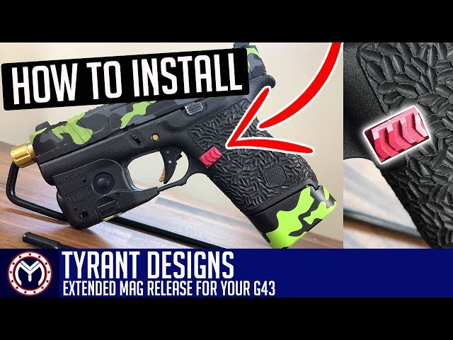 Gear Review: Tyrant Designs Extended Mag Release for GLOCK