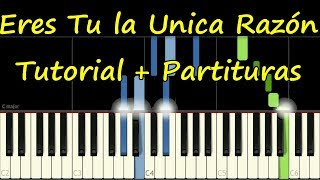 Te Alabare - Piano - Danilo Montero - Eres Tu La única Razón Tutorial Facil + Partitura Pdf Midi