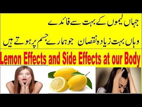 Shocking STOP;side Effects of Lemon Juice