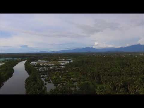 Butuan City , Bood Eco Park, Northern Mindanao, Philippines, Drone footage