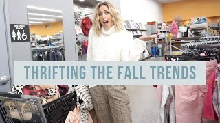 COME THRIFTING WITH ME// FALL TRENDS 2019