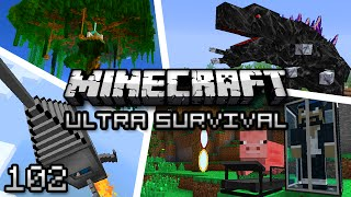 Minecraft: Ultra Modded Survival Ep. 102 - REKT
