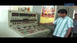 Power generation in Paleru Power Project in Khammam District