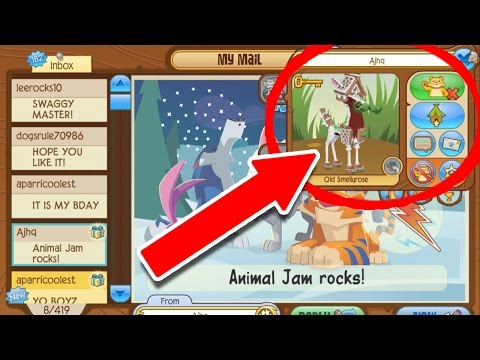 I GOT GIFTED BY ANIMAL JAM HQ!