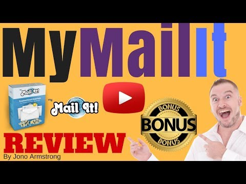 MyMailIt Review, ⚠️WARNING⚠️ DON'T BUY MY MAILIT WITHOUT MY 👷CUSTOM👷 BONUSES!!