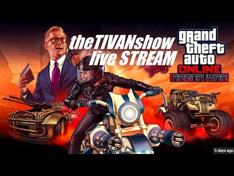 ROCKSTAR GTA 5 ARENA MODE WITH TIVAN AND MAXTORQUE87 HOSTING WILD / CRAZY ACTION IN GTA 5 ARENA