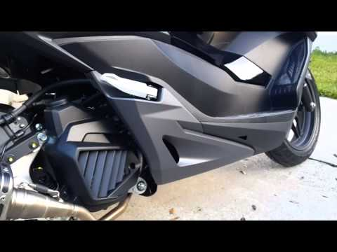 honda forza 125 akrapovic youtube. Black Bedroom Furniture Sets. Home Design Ideas
