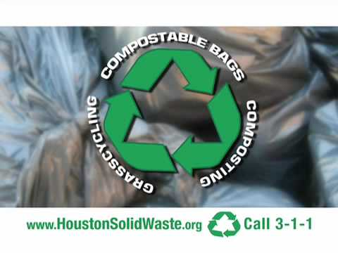 City of Houston Compostable Bags Information