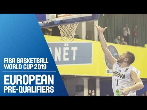 Kosovo v Estonia - Full Game - FIBA Basketball World Cup 2019 - European Pre-Qualifiers