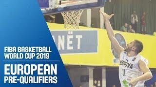 Kosovo v Estonia - Full Game - FIBA Basketball World Cup 2019 - European Pre-Qualifiers