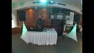 диджей на свадьбу (немецко-русскую) в отеле Арарат Парк Хаятт в центре Москвы