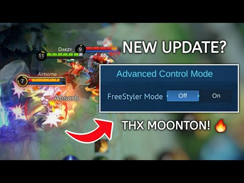 NEW FreeStyler MODE for CHOU?? MOONTON THANK YOU!