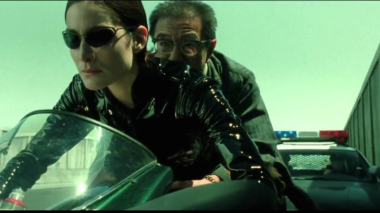 The Matrix Reloaded: Trinity on Ducati 996 #1