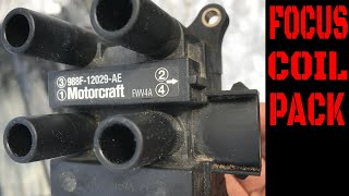 ford focus coil pack/ignition coil replacement video - youtube  youtube