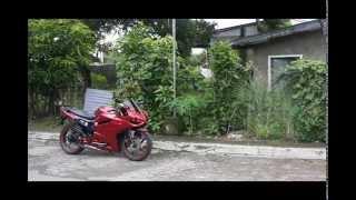 Gambar cover Yamaha SZR SZ-R SZ R Modified Into 899 1199 Ducati Panigale