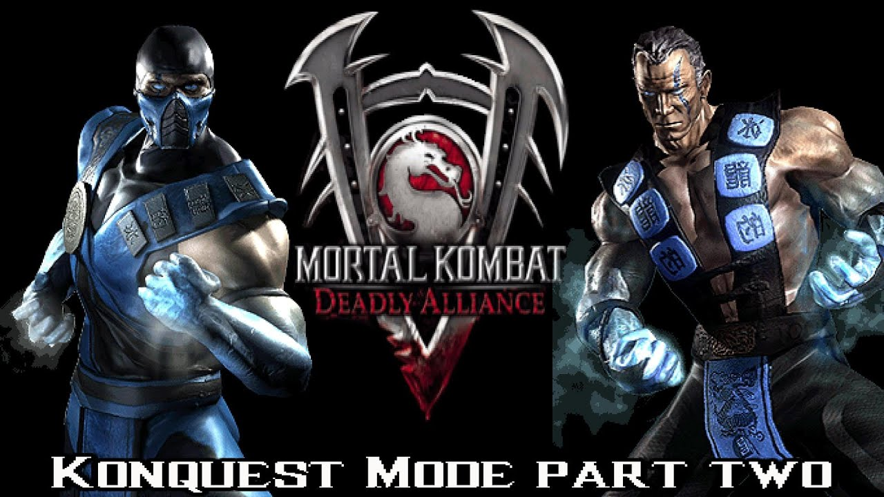 mortal kombat deadly alliance - konquest mode