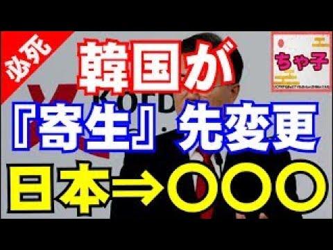 【韓国】『たっ、助けて.』使えない宿主日本wから帰省先を変更!さすが我が国の大統領だと韓国国民も賛同の嵐www