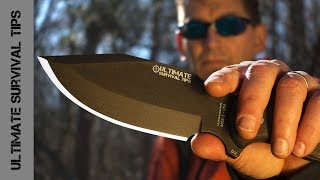 Wow! MSK-1: Ultimate Survival Tips Knife is HERE! Made in the USA. Best Survival Knife?