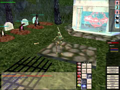 Everquest EQClassic Shadowknight Gameplay