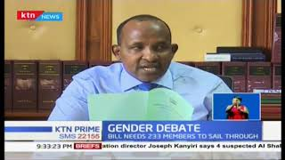 National Assembly to debate two-thirds gender bill, will it sail through this time?