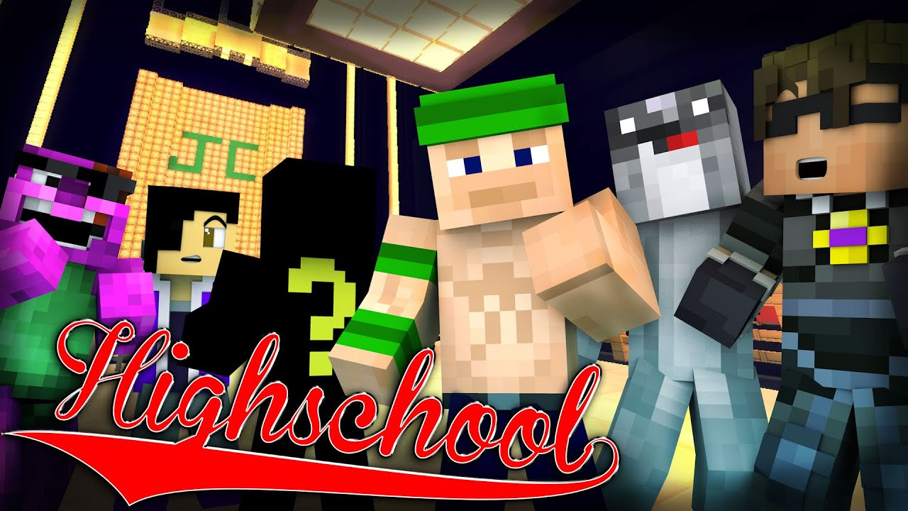 Minecraft High School It S John Cena 6 Minecraft Roleplay Youtube