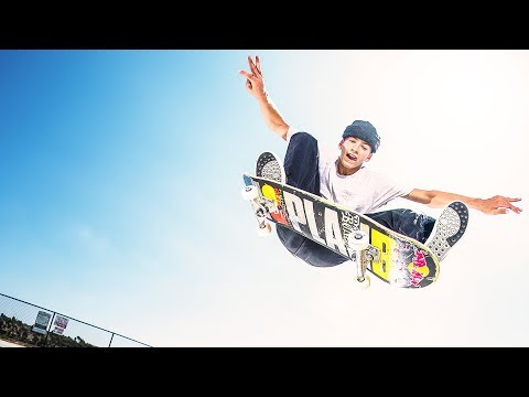 Jagger Eaton takes the crown at the Skate Finals of Simple Session 2018.