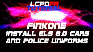 GTA IV LCPDFR Tutorial (Install ELS 8.0 cars + new uniforms!)