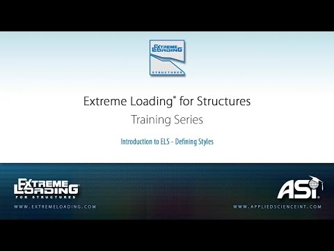 ELS 4 Tutorial - Introduction to ELS Defining Styles
